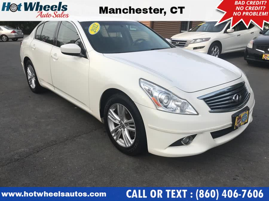 Used 2012 Infiniti G37 Sedan in Manchester, Connecticut | Hot Wheels Auto Sales LLC. Manchester, Connecticut