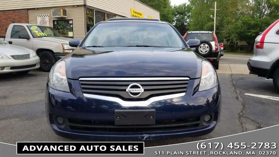 2008 Nissan Altima 4dr Sdn I4 CVT 2.5 SL, available for sale in Rockland, Massachusetts | Advanced Auto Sales. Rockland, Massachusetts