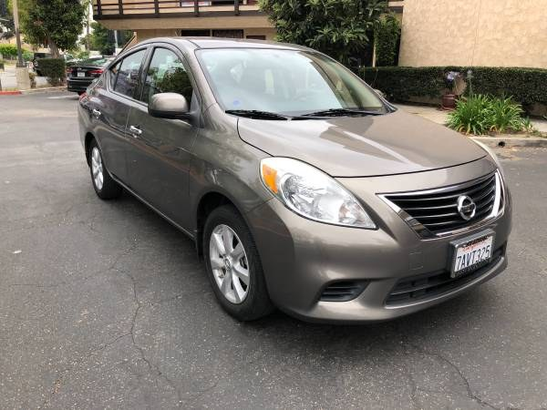 2014 Nissan Versa 4dr Sdn CVT 1.6 SV, available for sale in Orange, California | Carmir. Orange, California