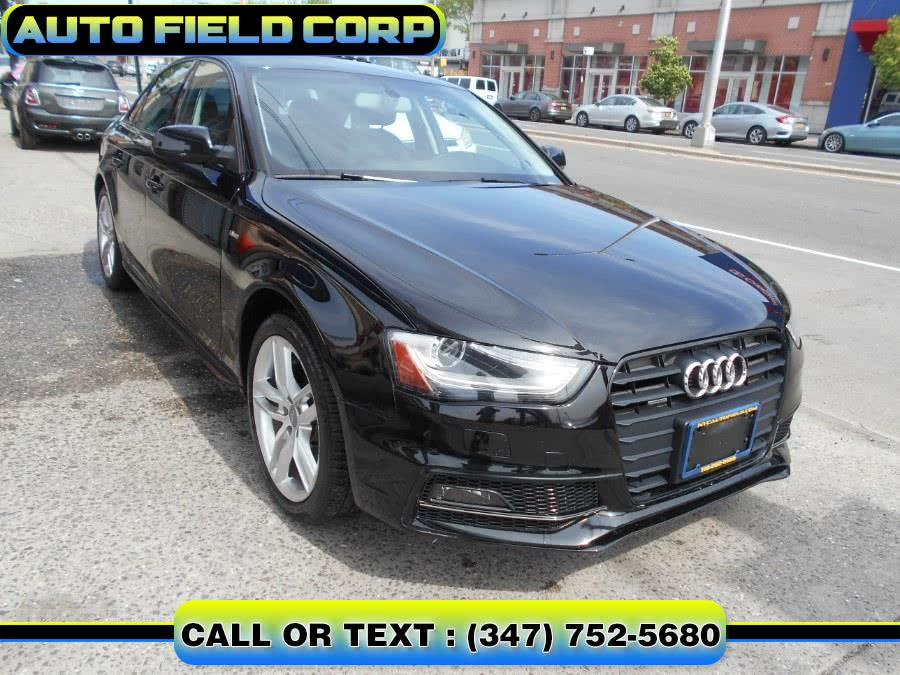Used 2016 Audi A4 in Jamaica, New York | Auto Field Corp. Jamaica, New York