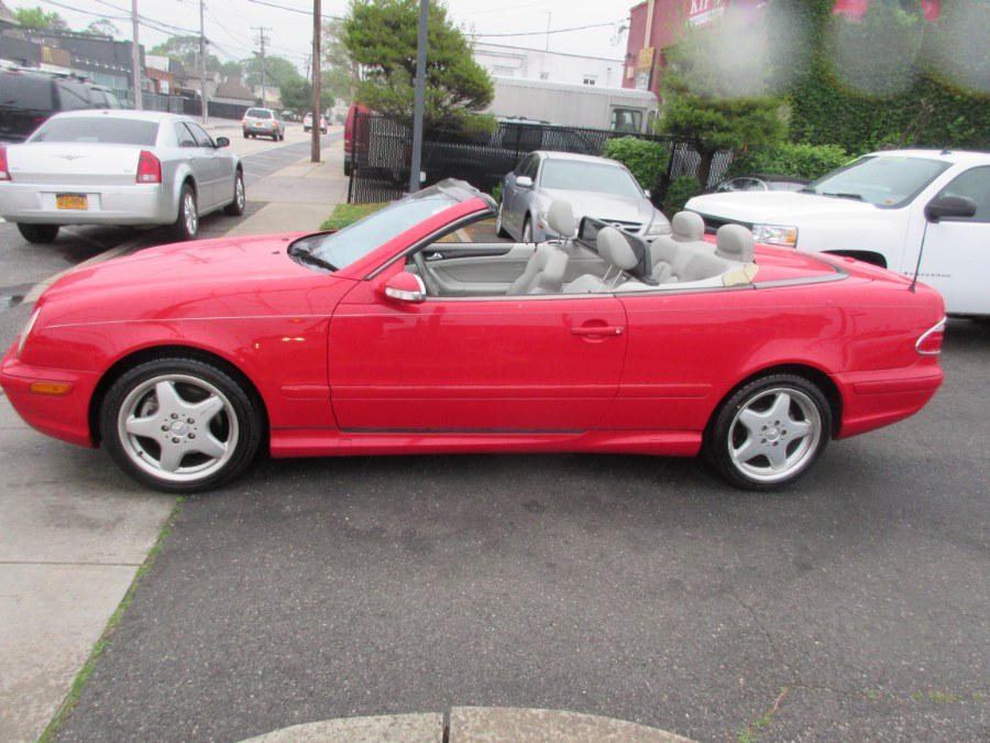 2001 Mercedes-Benz CLK-Class 2dr Cabriolet 4.3L, available for sale in Lynbrook, New York | ACA Auto Sales. Lynbrook, New York