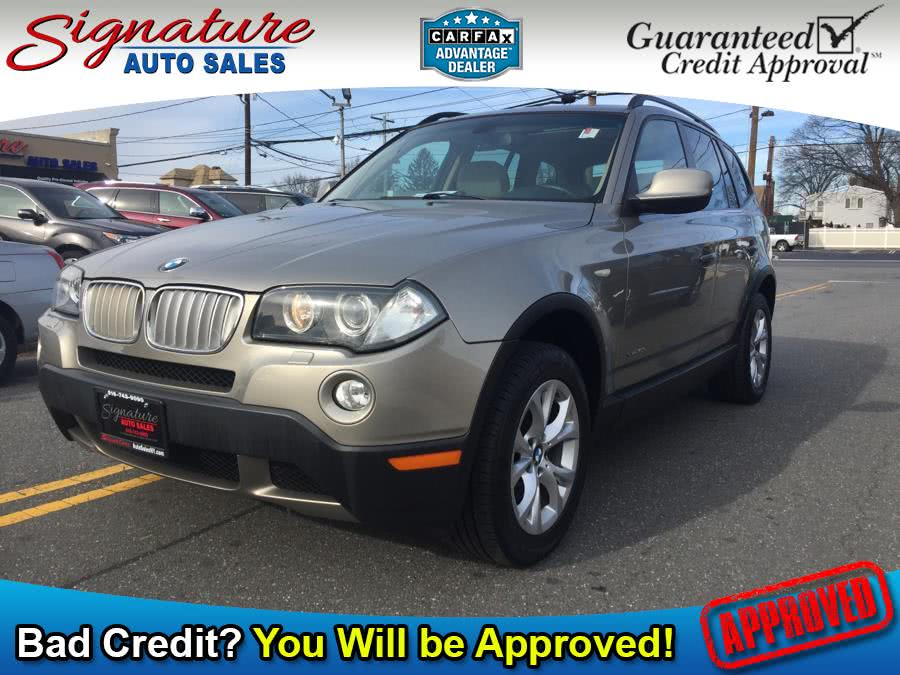 2010 BMW X3 AWD 4dr 30i, available for sale in Franklin Square, New York | Signature Auto Sales. Franklin Square, New York