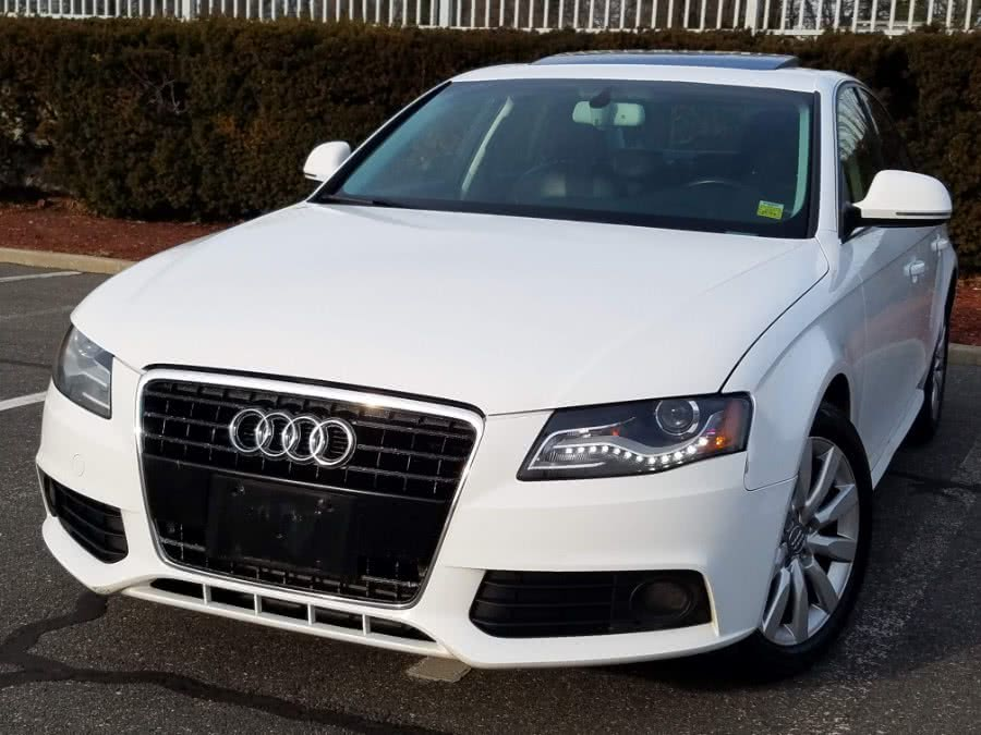 Used Audi A4 2.0T quattro AWD Premium w/Navigation,Back-up Camera,Sunroof 2009