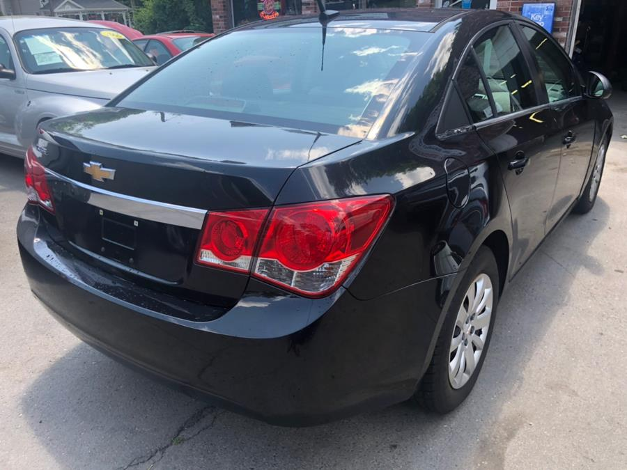 2011 Chevrolet Cruze 4dr Sdn LS, available for sale in New Britain, Connecticut | Central Auto Sales & Service. New Britain, Connecticut
