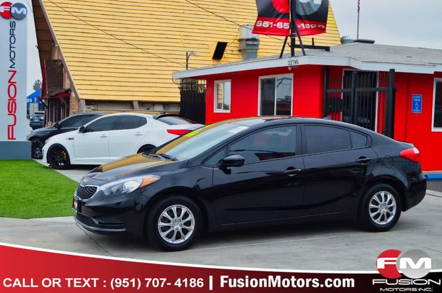 Used Kia Forte 4dr Sdn Auto LX 2016 | Fusion Motors Inc. Moreno Valley, California