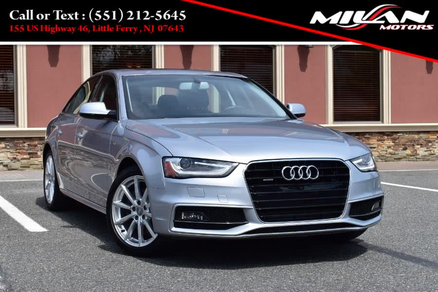 Used Audi A4 S Line Auto quattro 2.0T Premium Plus 2016 | Milan Motors. Little Ferry , New Jersey