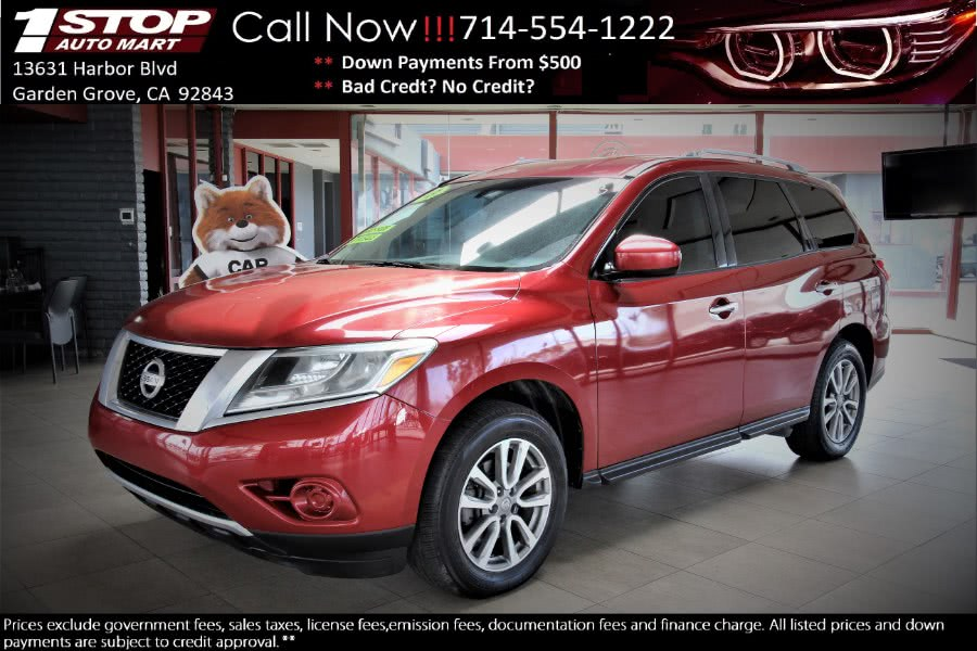 Used Nissan Pathfinder 2WD 4dr Platinum 2013 | 1 Stop Auto Mart Inc.. Garden Grove, California