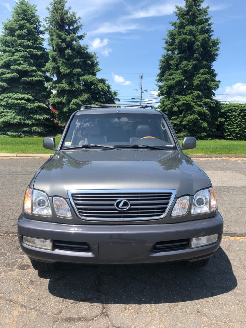 2002 Lexus LX 470 4dr SUV, available for sale in East Windsor, Connecticut | A1 Auto Sale LLC. East Windsor, Connecticut
