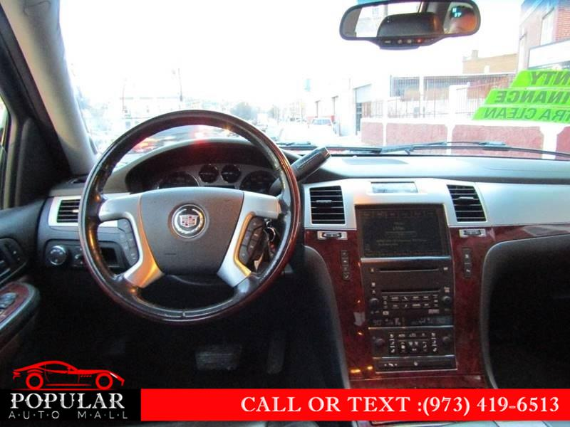 Used Cadillac Escalade ESV AWD 4dr 2007   Popular Auto Mall Inc . Newark , New Jersey