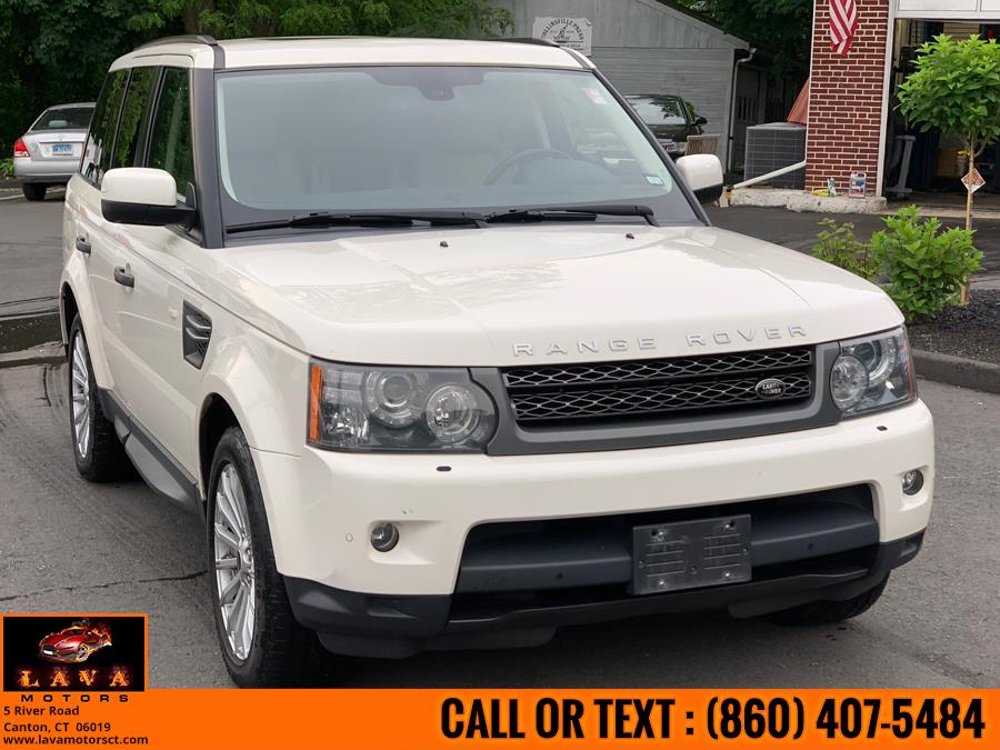 2010 Land Rover Range Rover Sport 4WD 4dr HSE, available for sale in Canton, Connecticut | Lava Motors. Canton, Connecticut