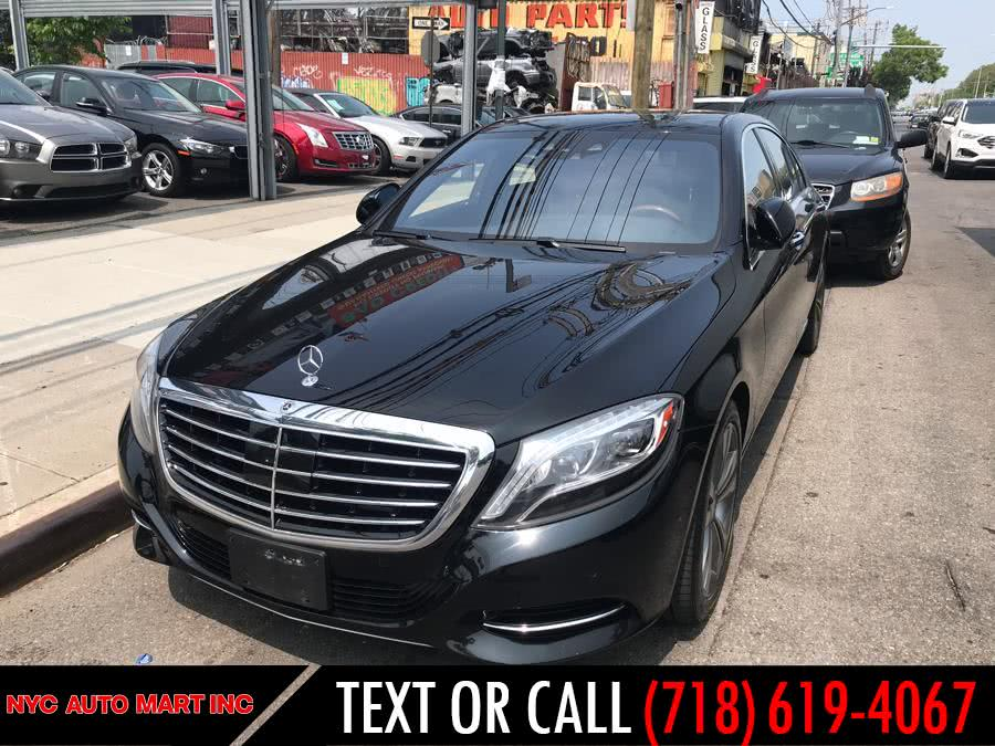 Used 2016 Mercedes-Benz S-Class in Brooklyn, New York | NYC Automart Inc. Brooklyn, New York