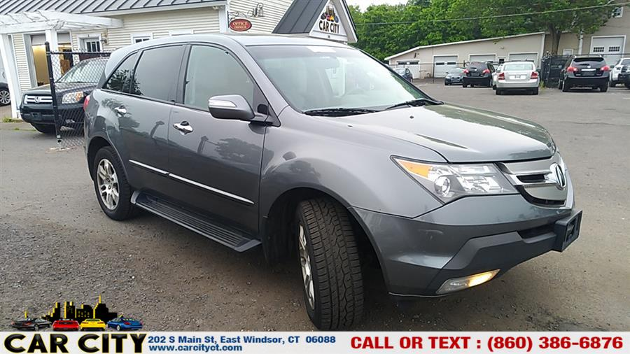 2008 Acura MDX 4WD 4dr Tech/Entertainment Pkg, available for sale in East Windsor, Connecticut | Car City LLC. East Windsor, Connecticut