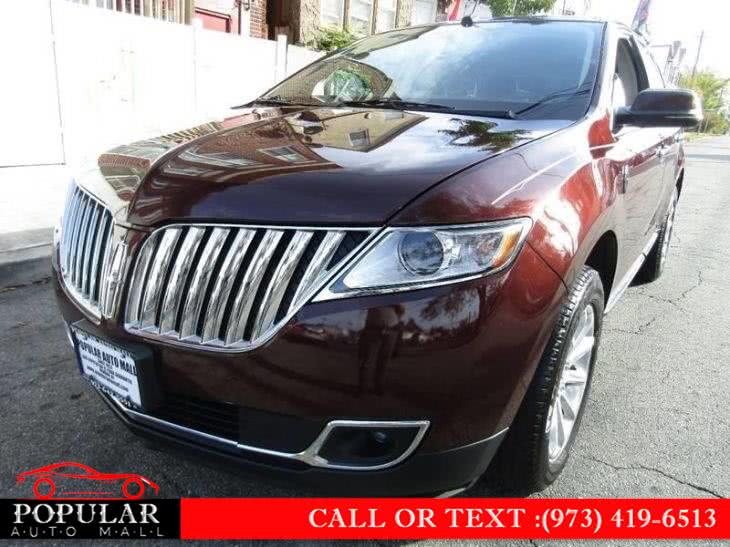 Used 2012 Lincoln MKX in Newark , New Jersey | Popular Auto Mall Inc . Newark , New Jersey