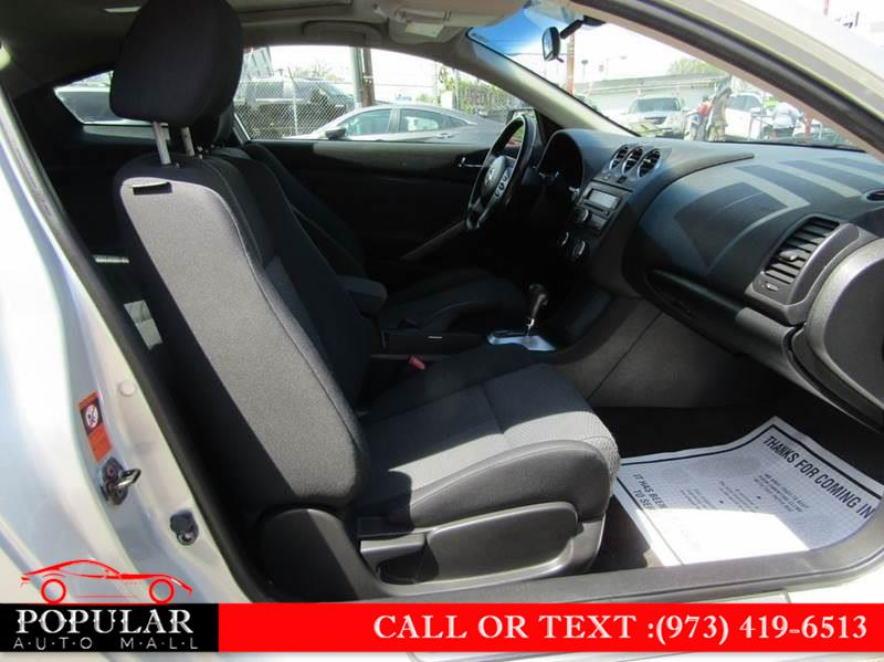 2009 Nissan Altima 2dr Cpe I4 CVT 2.5 S, available for sale in Newark , New Jersey | Popular Auto Mall Inc . Newark , New Jersey