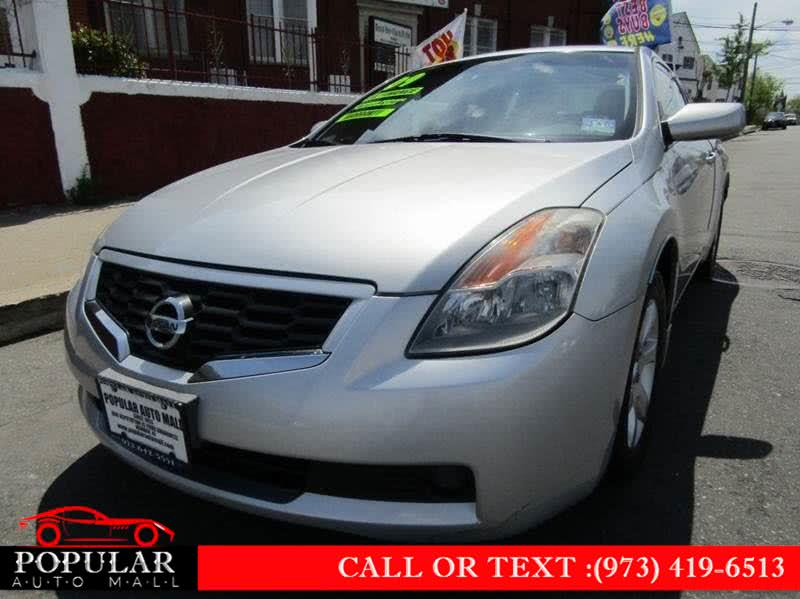 2009 Nissan Altima 2dr Cpe I4 CVT 2.5 S, available for sale in Newark , NJ