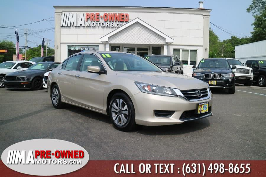 Used 2013 Honda Accord Sdn in Huntington, New York | M & A Motors. Huntington, New York