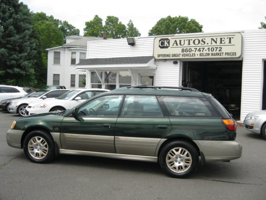Used 2001 Subaru Legacy Wagon in Plainville, Connecticut | CK Autos. Plainville, Connecticut