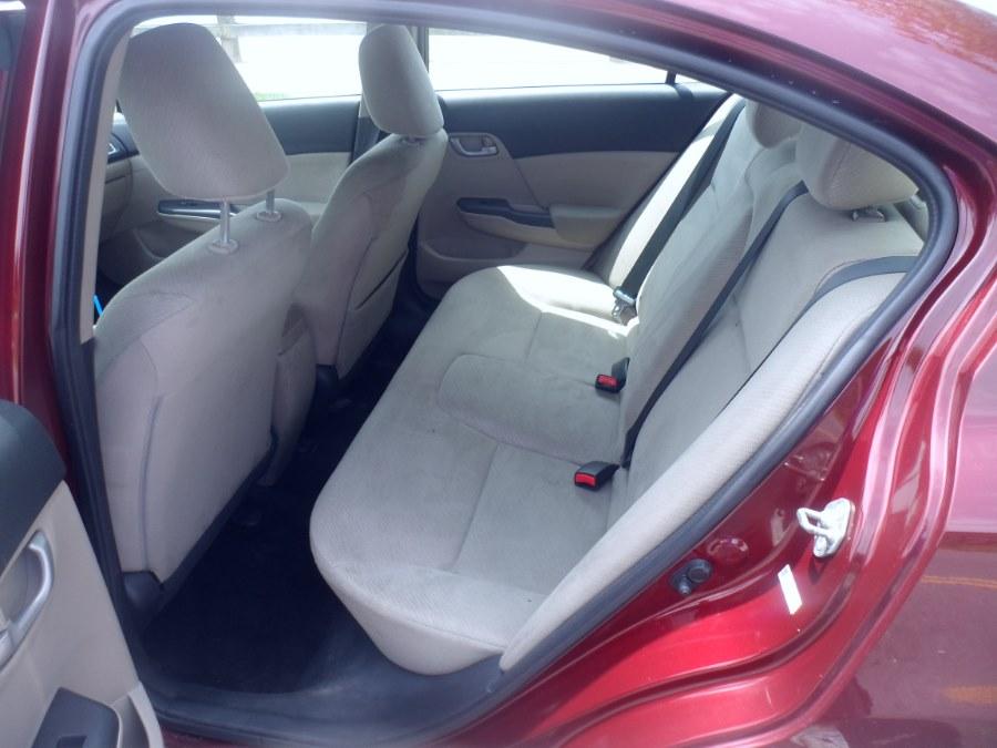 2013 Honda Civic Sdn 4dr Auto LX, available for sale in Bridgeport, Connecticut | Hurd Auto Sales. Bridgeport, Connecticut