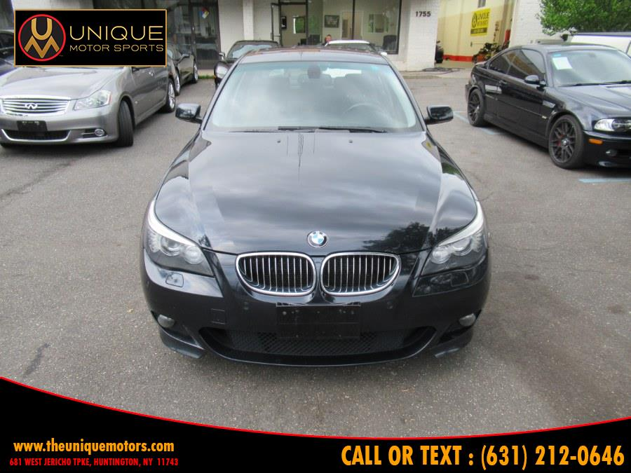 2008 BMW 5 Series 4dr Sdn 550i RWD, available for sale in Huntington, New York | Unique Motor Sports. Huntington, New York