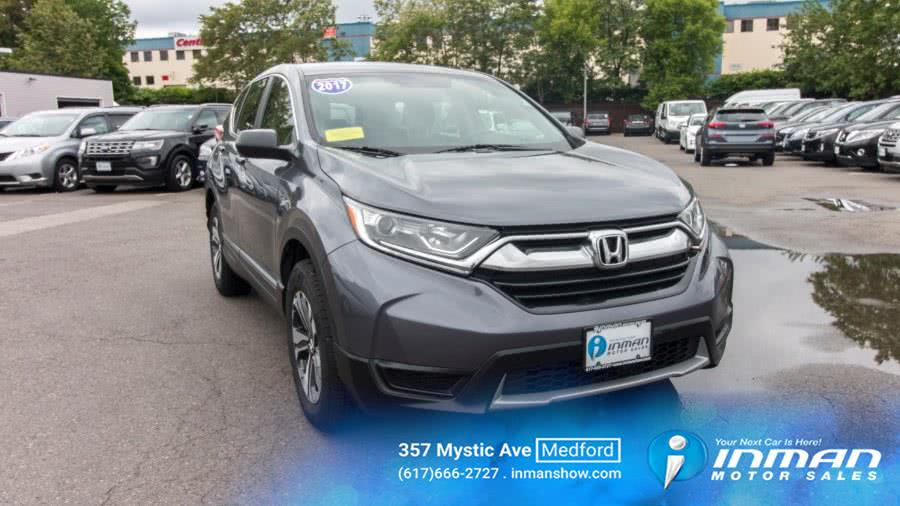 Used 2017 Honda CR-V in Medford, Massachusetts | Inman Motors Sales. Medford, Massachusetts