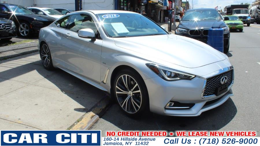 2018 INFINITI Q60 3.0t LUXE RWD, available for sale in Brooklyn, New York | E Cars . Brooklyn, New York