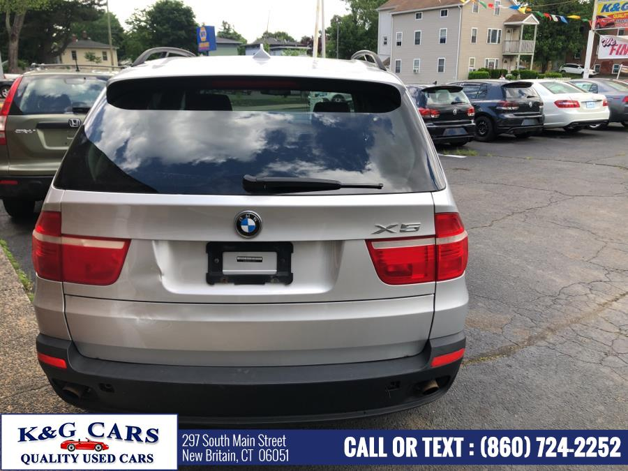 2007 BMW X5 AWD 4dr 3.0si, available for sale in New Britain, Connecticut | K and G Cars . New Britain, Connecticut