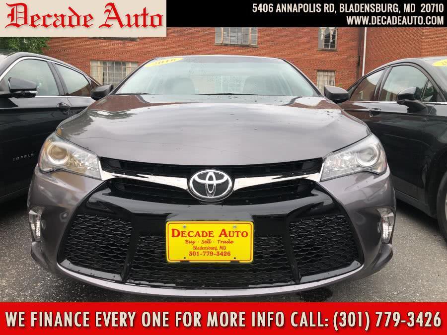 Used 2016 Toyota Camry in Bladensburg, Maryland | Decade Auto. Bladensburg, Maryland