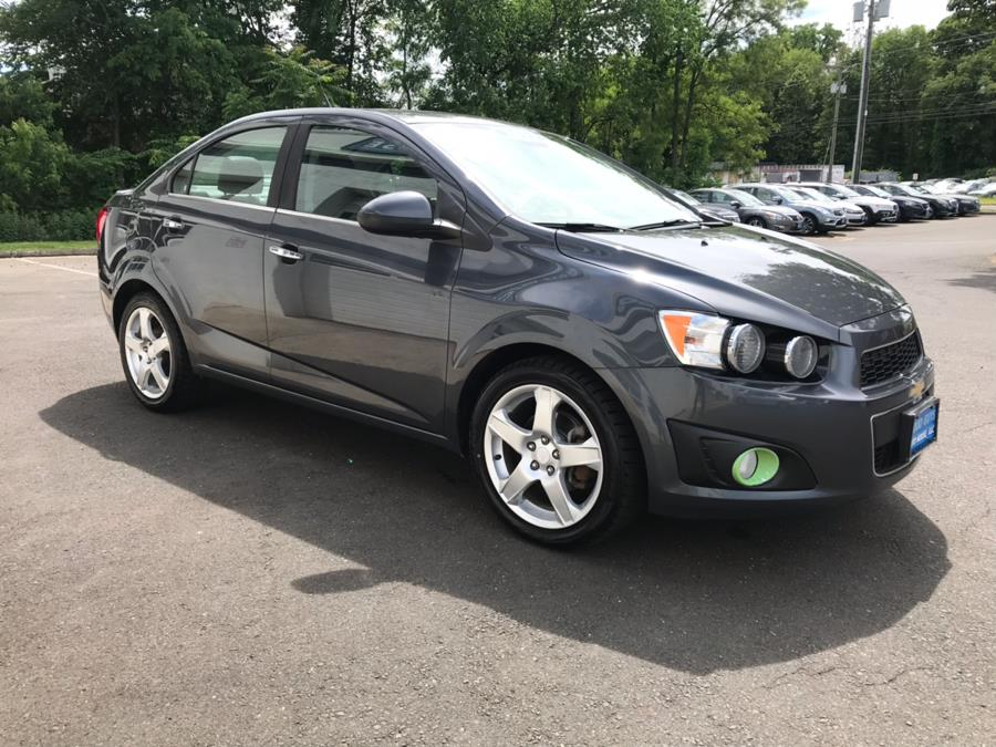 2013 Chevrolet Sonic 4dr Sdn Auto LTZ, available for sale in Southington, Connecticut | Good Guys Auto House. Southington, Connecticut