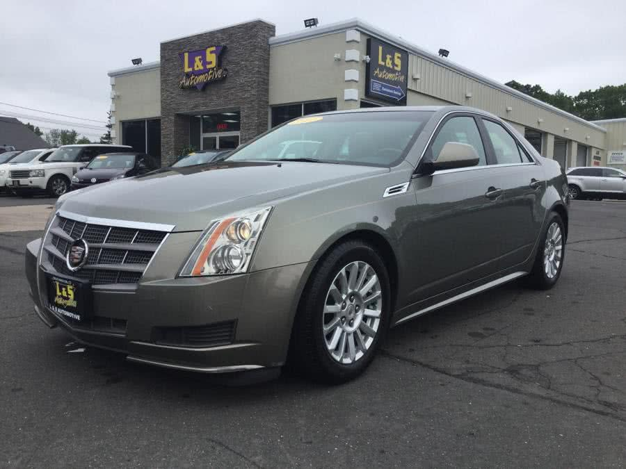2010 Cadillac CTS Sedan 4dr Sdn 3.0L Luxury RWD, available for sale in Plantsville, Connecticut | L&S Automotive LLC. Plantsville, Connecticut