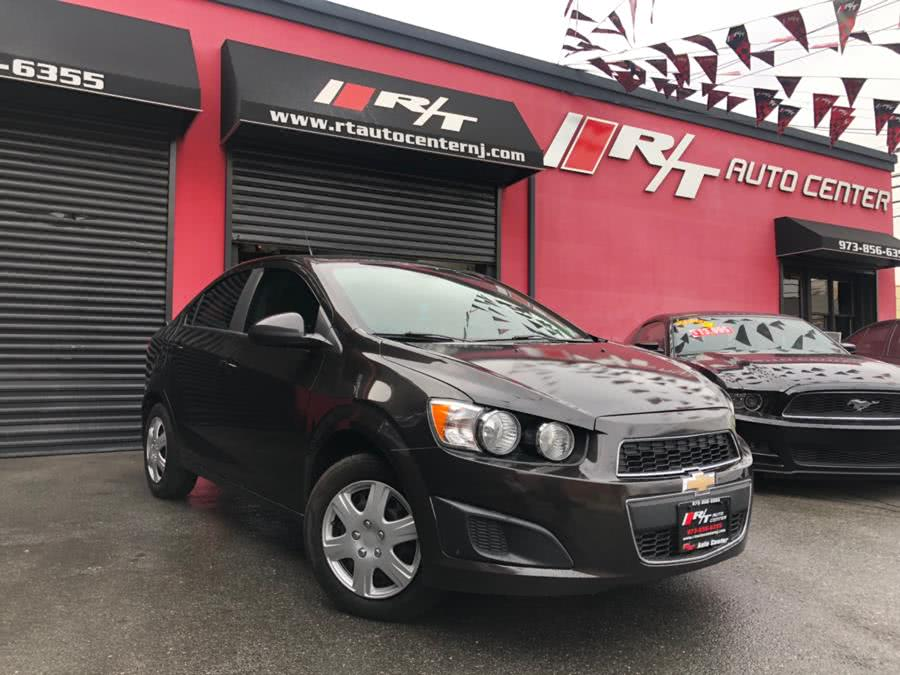 2013 Chevrolet Sonic 4dr Sdn Auto LS, available for sale in Newark, New Jersey | RT Auto Center LLC. Newark, New Jersey