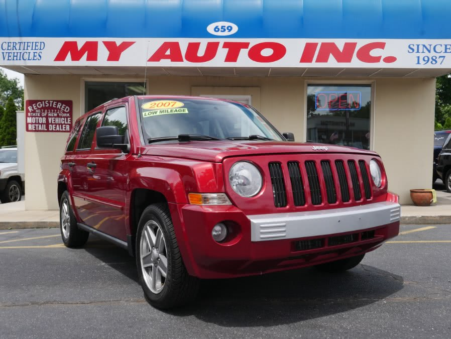 Used Jeep Patriot 4WD 4dr Limited 2007 | My Auto Inc.. Huntington Station, New York
