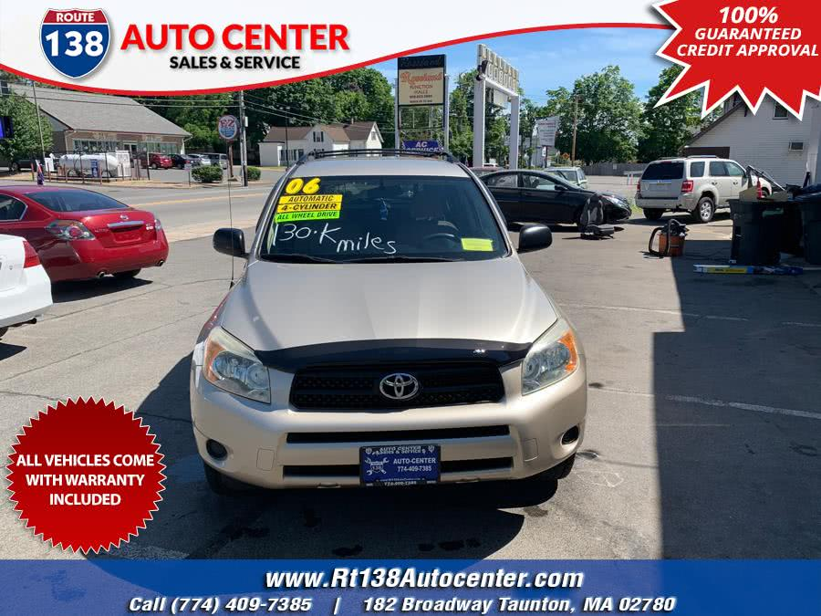 Used Toyota RAV4 4dr Base 4-cyl 4WD (Natl) 2006 | Rt 138 Auto Center Inc . Taunton, Massachusetts