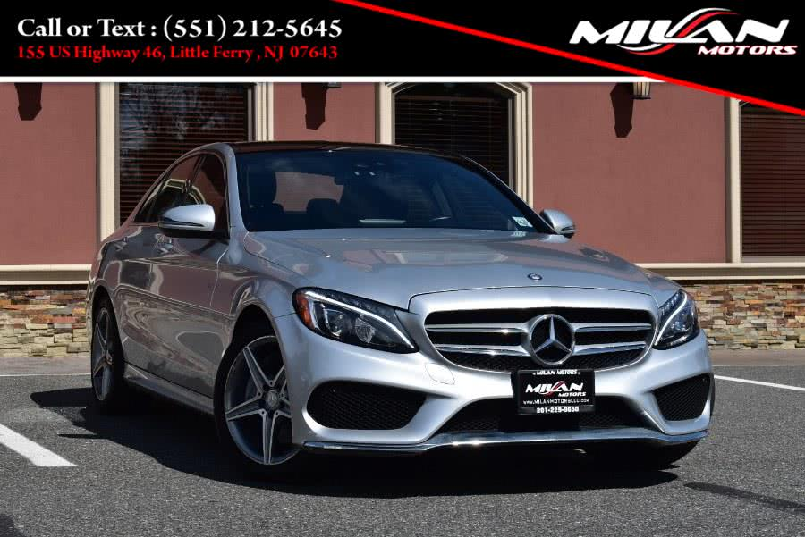 Used Mercedes-Benz C-Class 4dr Sdn C 300 Sport 4MATIC 2016 | Milan Motors. Little Ferry , New Jersey