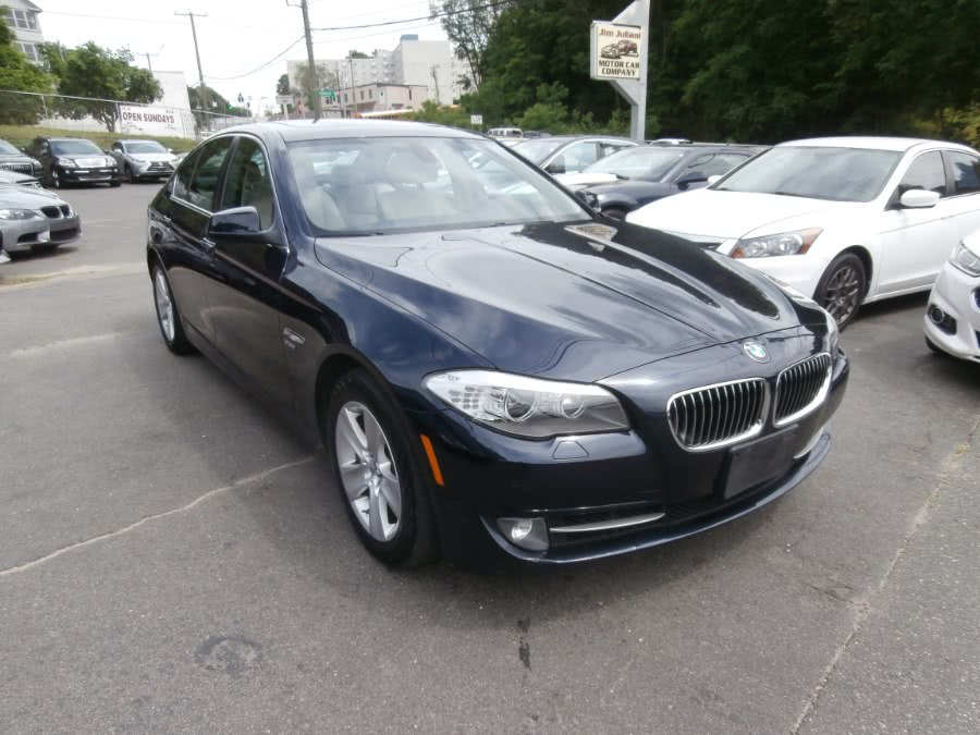 2012 BMW 5 Series 4dr Sdn 528i xDrive AWD, available for sale in Waterbury, Connecticut | Jim Juliani Motors. Waterbury, Connecticut