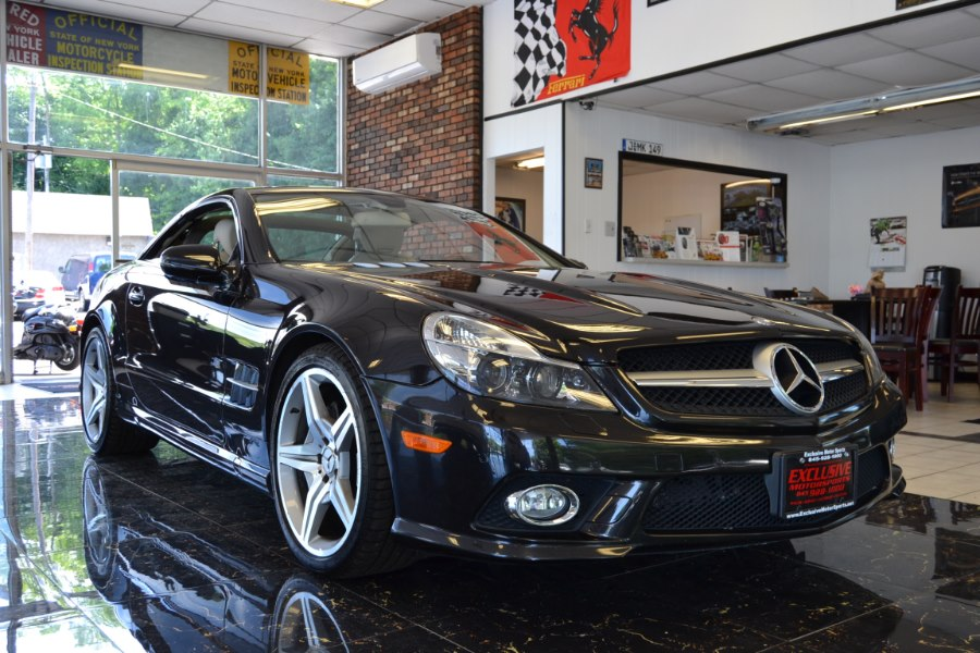 Used Mercedes-Benz SL-Class 2dr Roadster 5.5L V8 2009   Exclusive Motor Sports. Central Valley, New York
