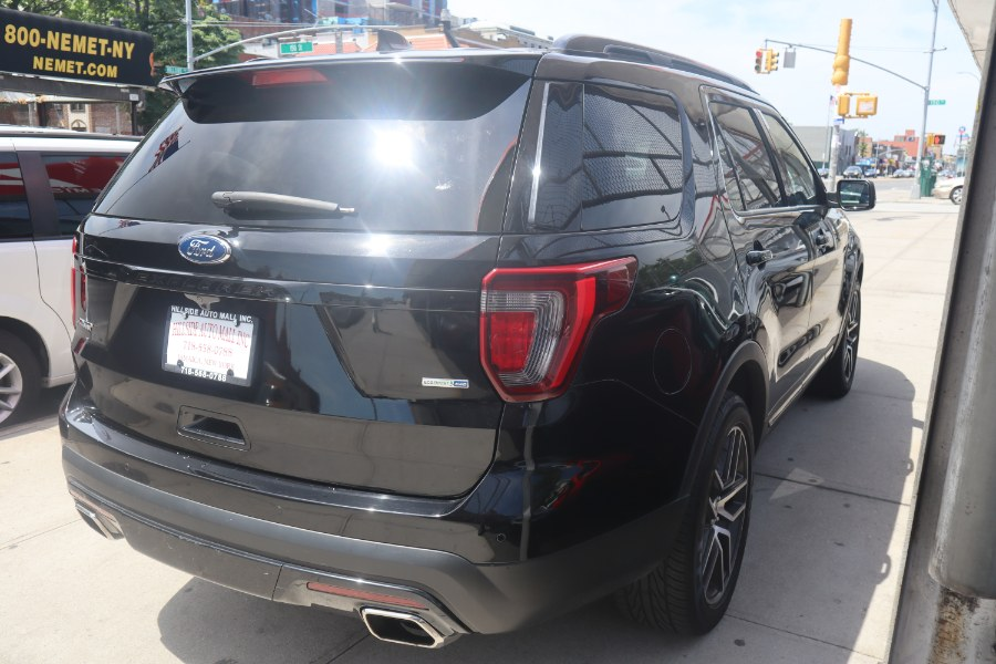 2016 Ford Explorer 4WD 4dr Sport, available for sale in Jamaica, New York | Hillside Auto Mall Inc.. Jamaica, New York