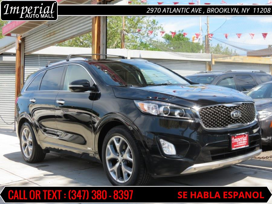 2016 Kia Sorento AWD 4dr 3.3L SX, available for sale in Brooklyn, New York | Imperial Auto Mall. Brooklyn, New York
