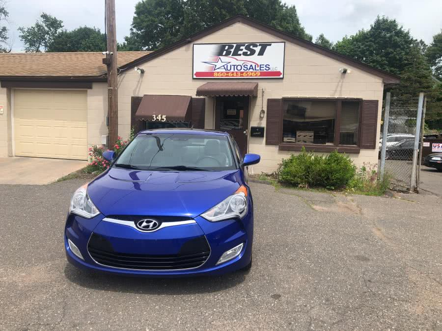 2012 Hyundai Veloster 3dr Cpe Man w/Black Int, available for sale in Manchester, Connecticut | Best Auto Sales LLC. Manchester, Connecticut