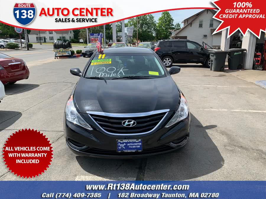 Used Hyundai Sonata 4dr Sdn 2.4L Auto GLS *Ltd Avail* 2011 | Rt 138 Auto Center Inc . Taunton, Massachusetts