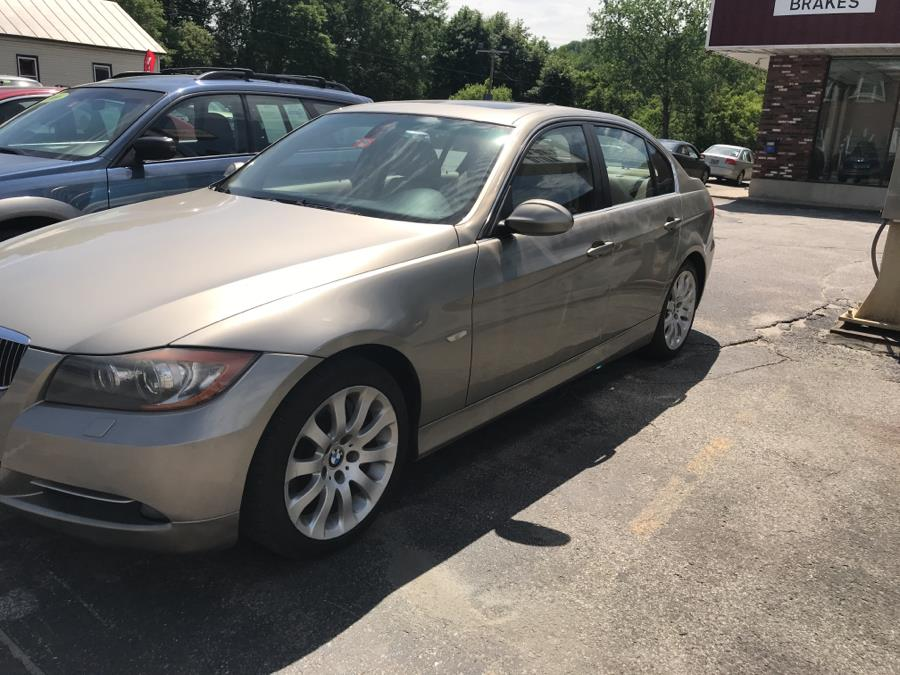 Used BMW 3 Series 4dr Sdn 335xi AWD 2007   Routhier Auto Center. Barre, Vermont