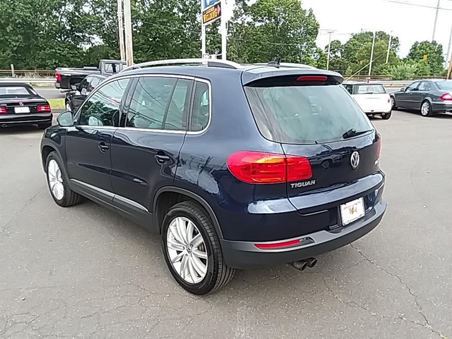 2012 Volkswagen Tiguan 4WD 4dr Auto SEL w/Premium Nav & Dyn. *Ltd Avail*, available for sale in Wallingford, Connecticut | Vertucci Automotive Inc. Wallingford, Connecticut
