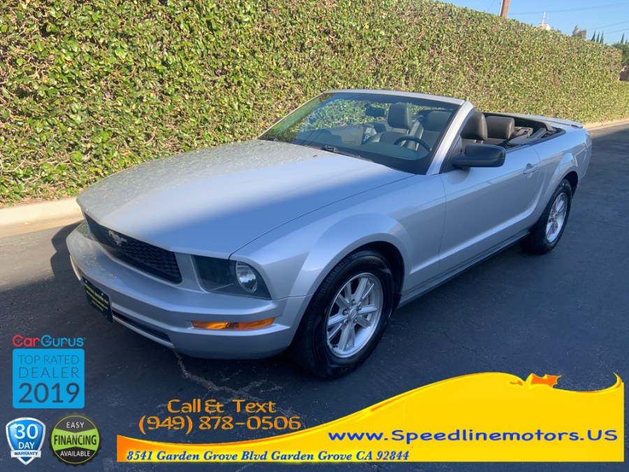 2008 Ford Mustang 2dr Conv Premium, available for sale in Garden Grove, California | Speedline Motors. Garden Grove, California