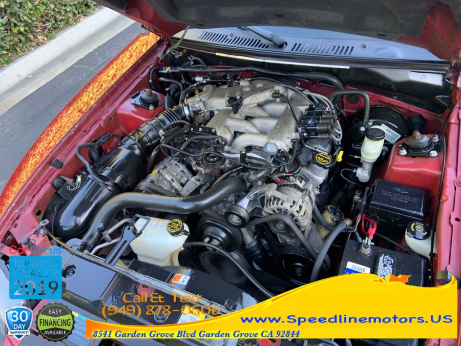 2004 Ford Mustang 2dr Cpe Deluxe, available for sale in Garden Grove, California | Speedline Motors. Garden Grove, California