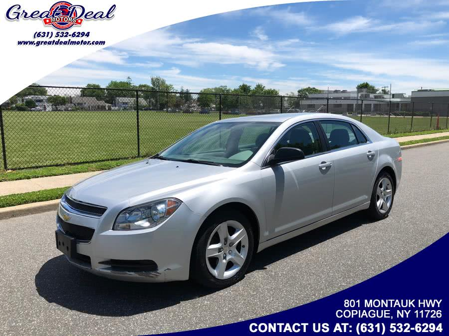 Used Chevrolet Malibu 4dr Sdn LS w/1FL 2012 | Great Deal Motors. Copiague, New York