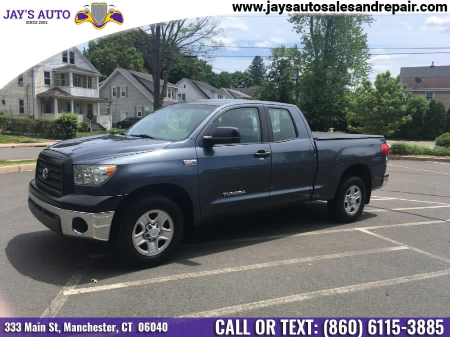 Used Toyota Tundra 2WD Truck Dbl 5.7L V8 6-Spd AT SR5 (Natl) 2008 | Jay's Auto. Manchester, Connecticut