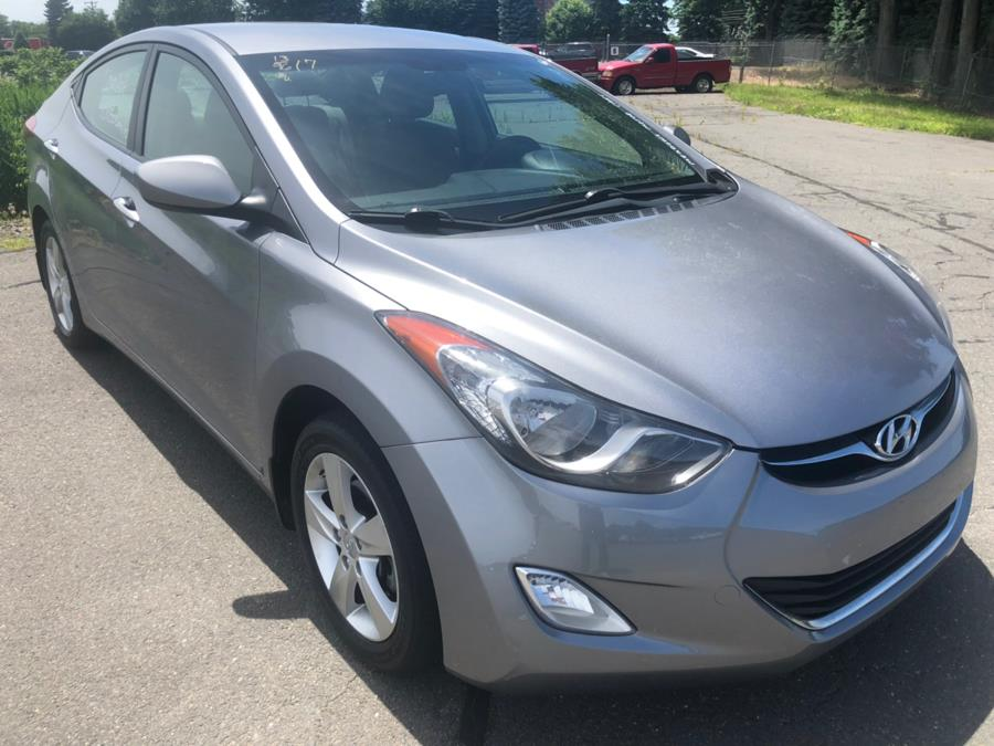 2013 Hyundai Elantra 4dr Sdn Man GLS *Ltd Avail*, available for sale in New Britain, Connecticut | Central Auto Sales & Service. New Britain, Connecticut