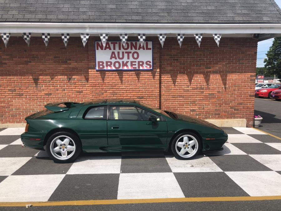1995 Lotus Esprit S4 Turbo, available for sale in Waterbury, Connecticut | National Auto Brokers, Inc.. Waterbury, Connecticut
