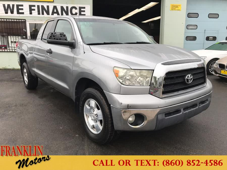 "2007 Toyota Tundra 4WD Double 145.7"" 5.7L V8 SR5 (GS), available for sale in Hartford, CT"