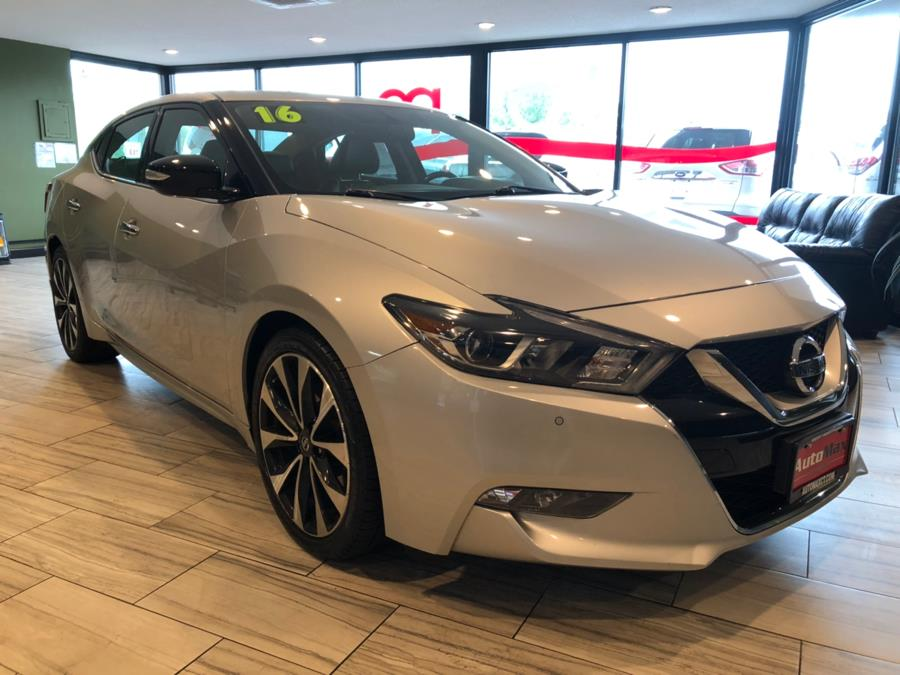 2016 Nissan Maxima 4dr Sdn 3.5 SR, available for sale in West Hartford, Connecticut | AutoMax. West Hartford, Connecticut
