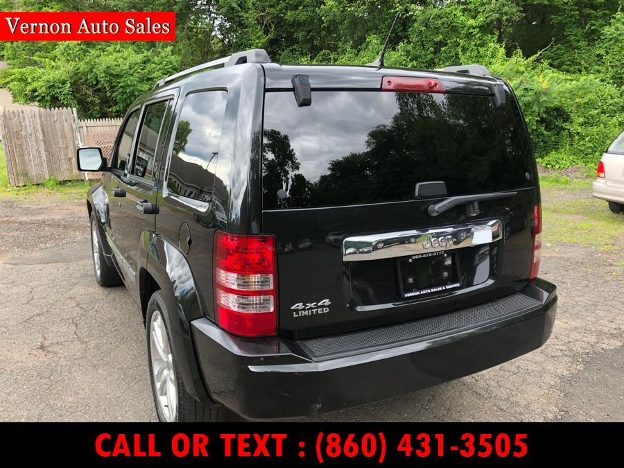 2012 Jeep Liberty 4WD 4dr Limited Jet, available for sale in Manchester, Connecticut | Vernon Auto Sale & Service. Manchester, Connecticut